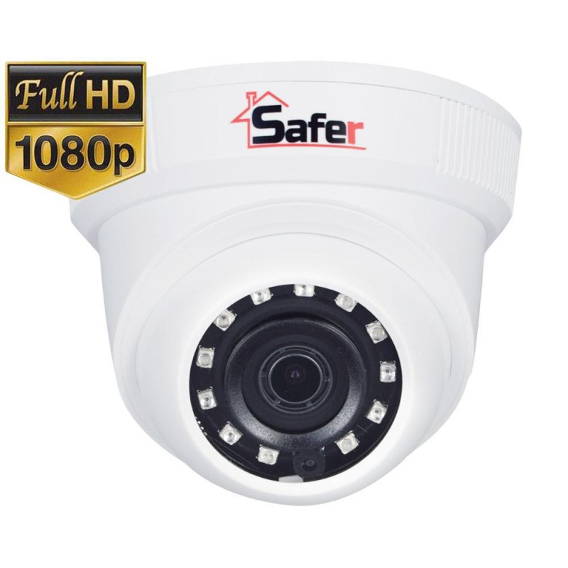 Camera supraveghere FULL HD, Dome, IR 20, lentila 2.8 mm Safer