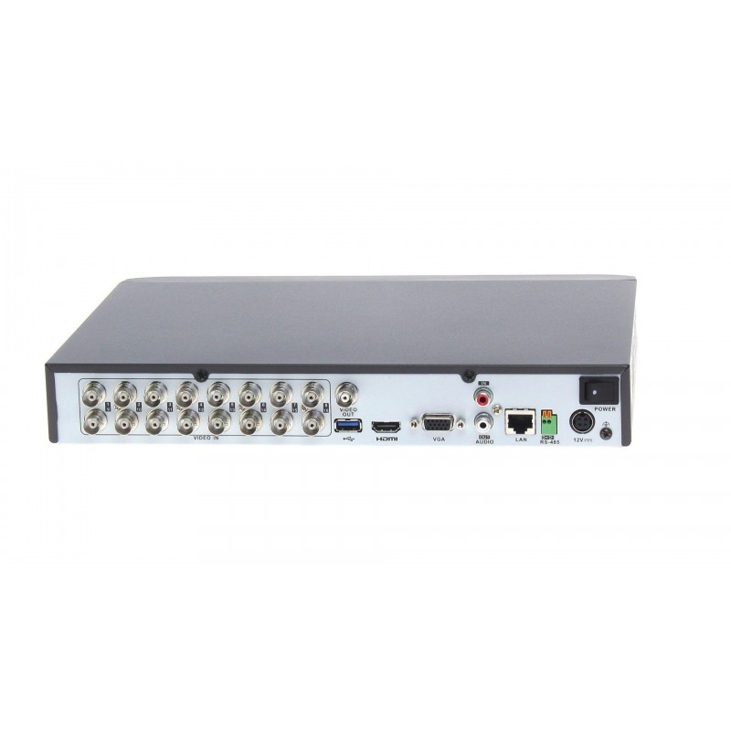 DVR 16 canale, 2 Megapixeli, H265+ Hikvision