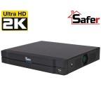 DVR 4 canale SAFER Pentabrid de 4 MP, 1 x HDD