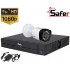 Sistem supraveghere 1 camera exterior FULL HD